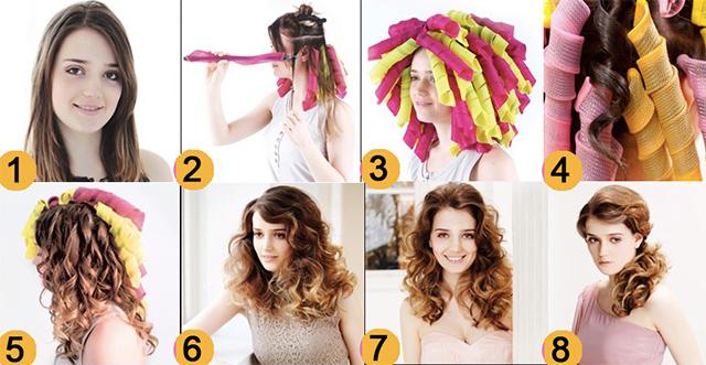Приспособления для волос для создания причесок