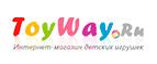 Toyway: Скидки 7% на второй заказ! (Промокод: Не нужен)